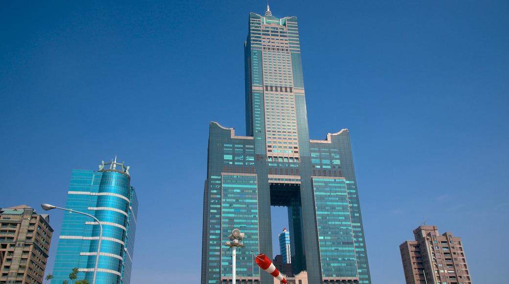 Tuntex Sky Tower 其中包括 摩天大樓 和 城市