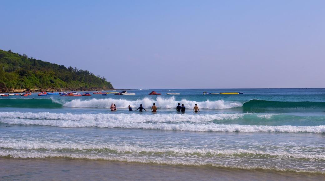 Nan Wan Beach which includes a beach and surf