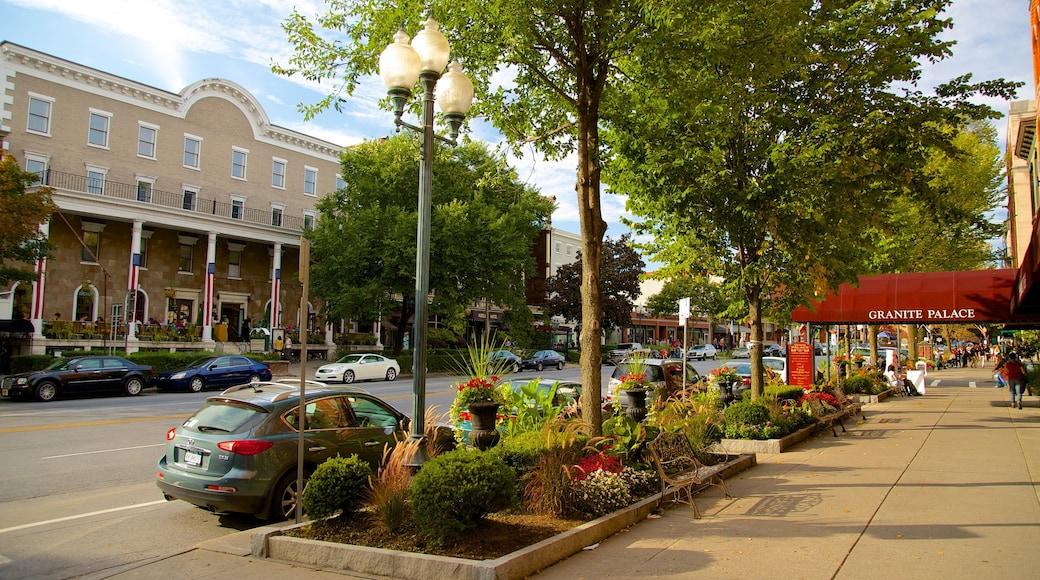 Saratoga Springs mit einem Stadt
