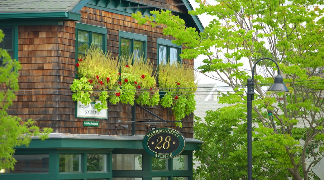 Jamestown featuring a house