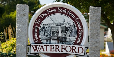 Waterford featuring signage