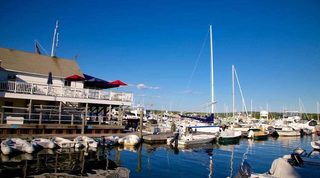 Essex featuring a marina