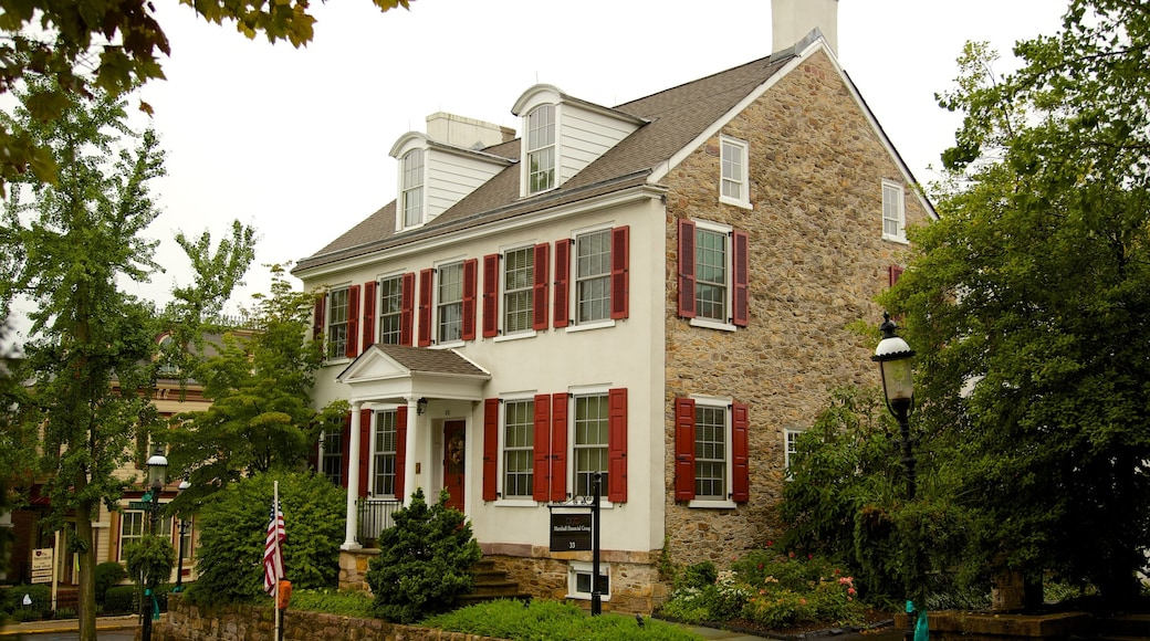 Doylestown caracterizando arquitetura de patrimônio