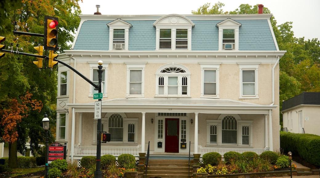 Doylestown que inclui uma casa e arquitetura de patrimônio