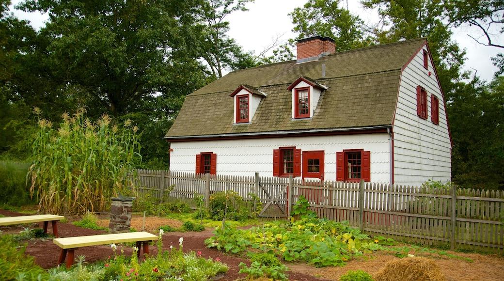 Washington Crossing que inclui uma casa