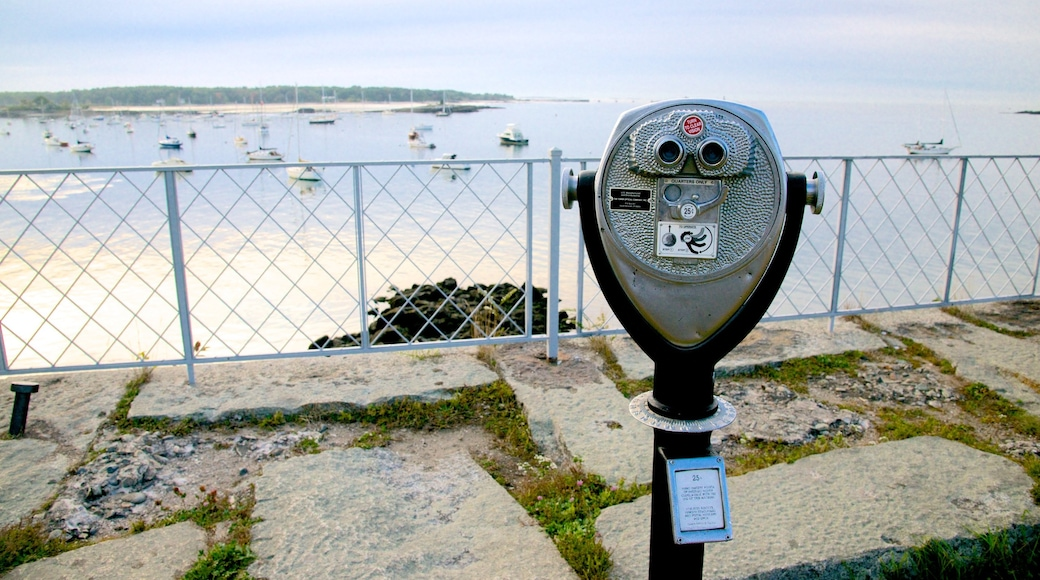 Fort McClary State Park which includes views and general coastal views