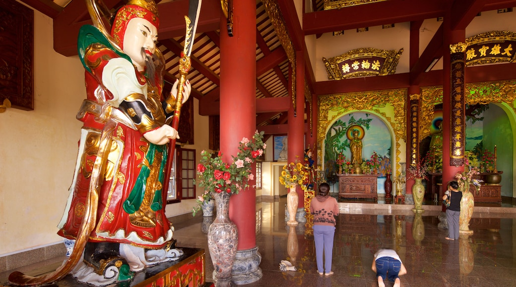 Linh Ung Pagoda which includes heritage architecture and religious aspects