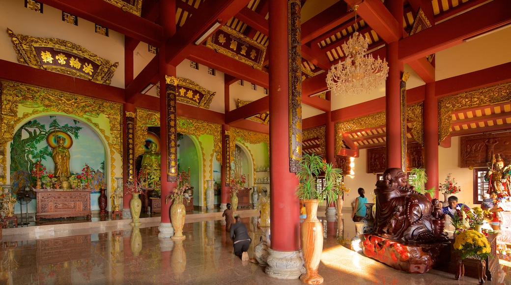 Linh Ung Pagoda which includes religious aspects and heritage architecture