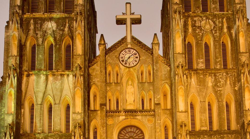 聖若瑟主教座堂 呈现出 傳統元素, 歷史建築 和 教堂或大教堂