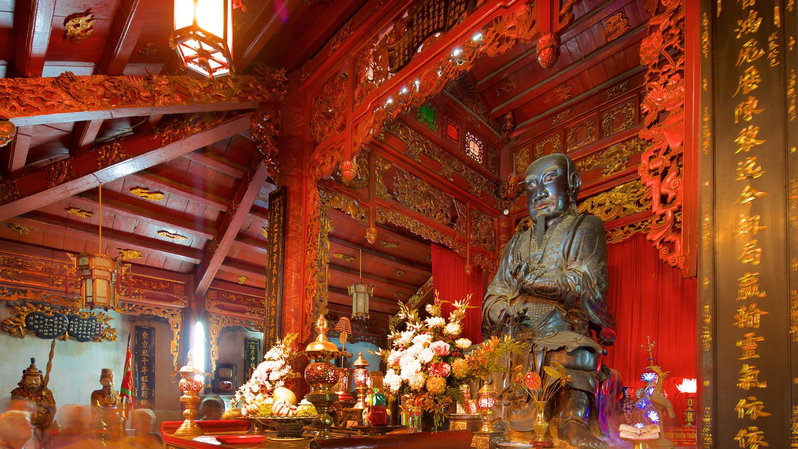 Tempel van Quan Thanh, Hanoi, Vietnam