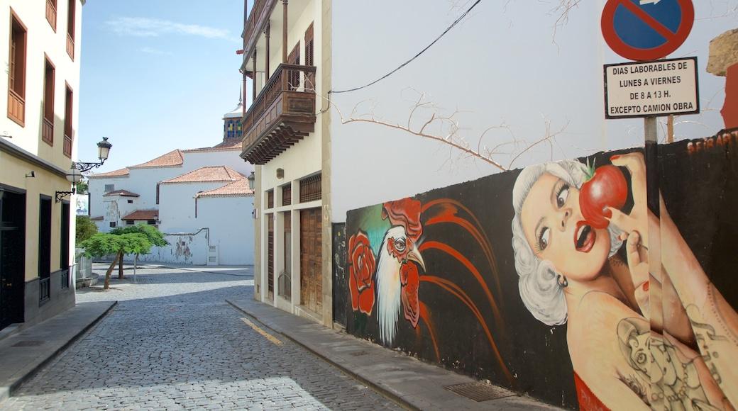 Santa Cruz de Tenerife toont kunst en kunst in de open lucht