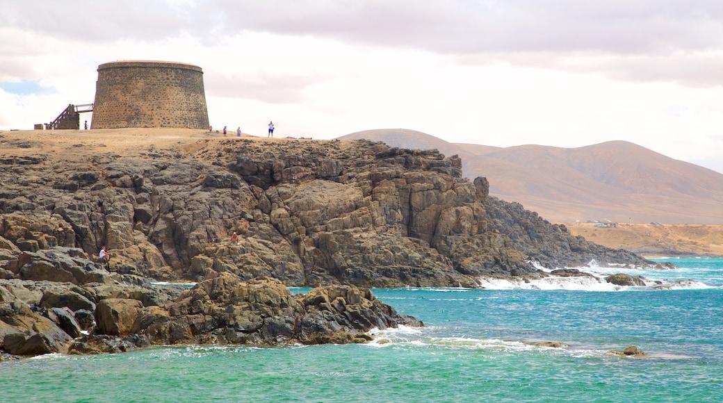 El Cotillo mit einem schroffe Küste