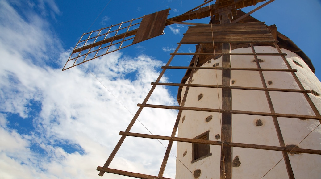 El Cotillo inclusief een windmolen