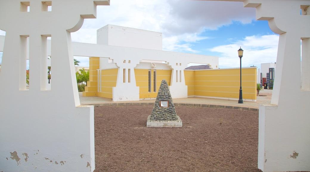 La Oliva mostrando una plaza