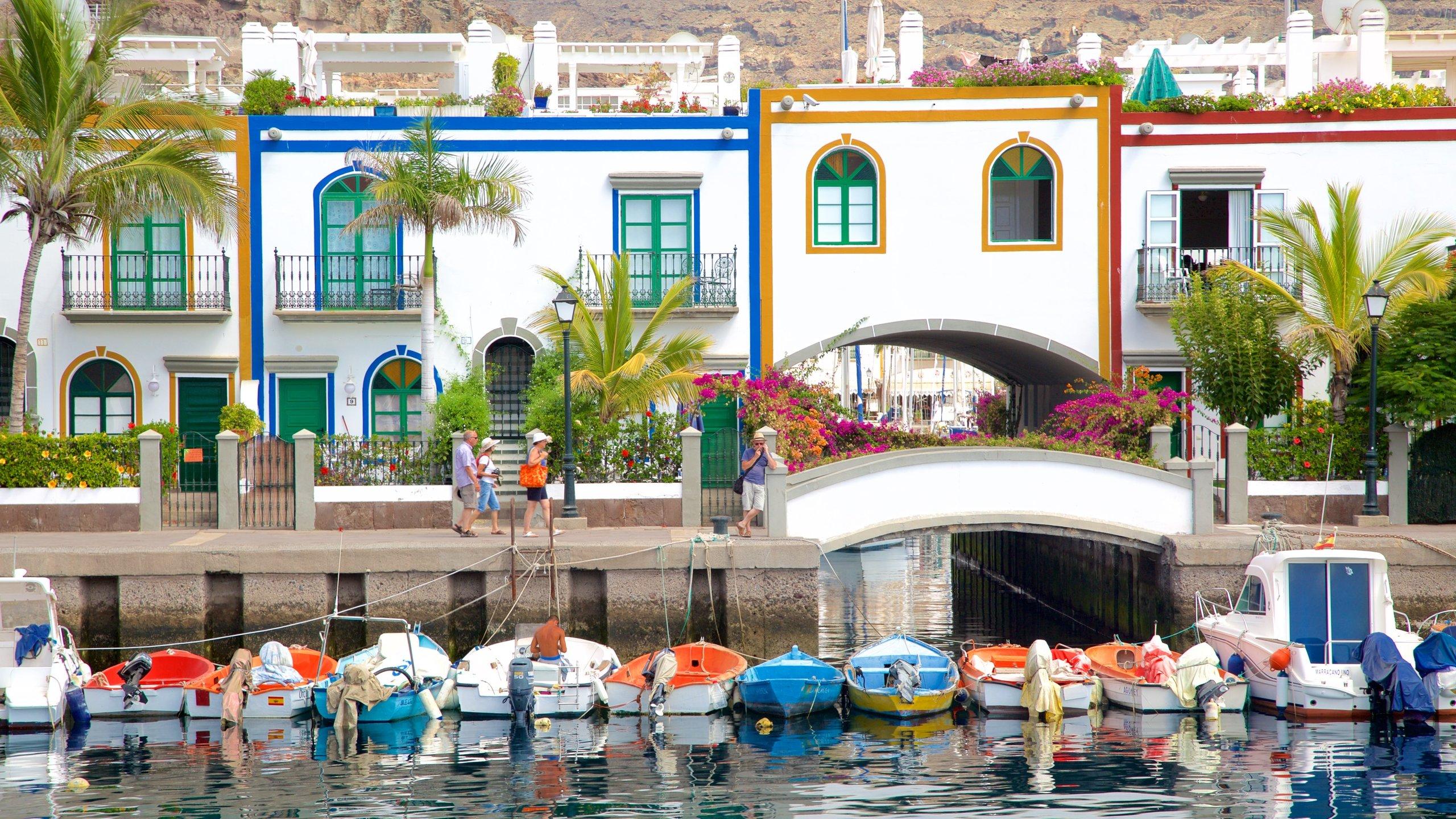 Mogan Port, Mogan, Canary Islands, Spain