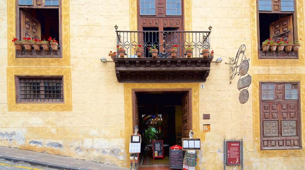 La Orotava toont een stad