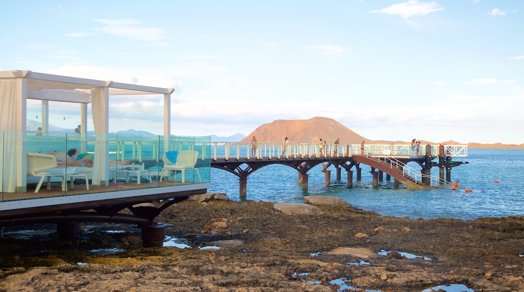 Corralejo toont algemene kustgezichten