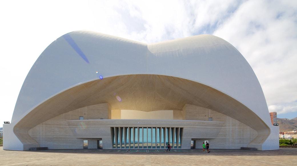 Auditorio de Tenerife inclusief moderne architectuur