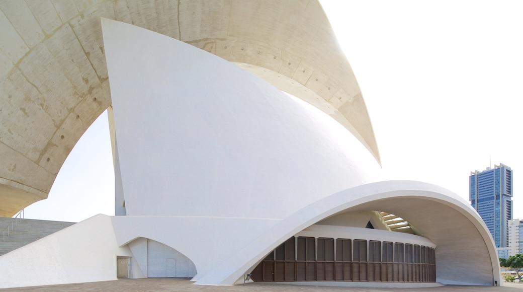 Auditorio de Tenerife toont moderne architectuur