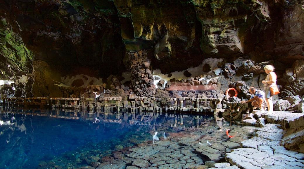 Jameos del Agua qui includes grottes