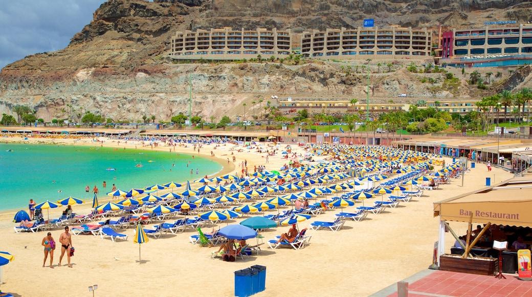 Amadoresin uimaranta featuring luksushotelli tai lomakeskus, ranta ja yleiset rantanäkymät