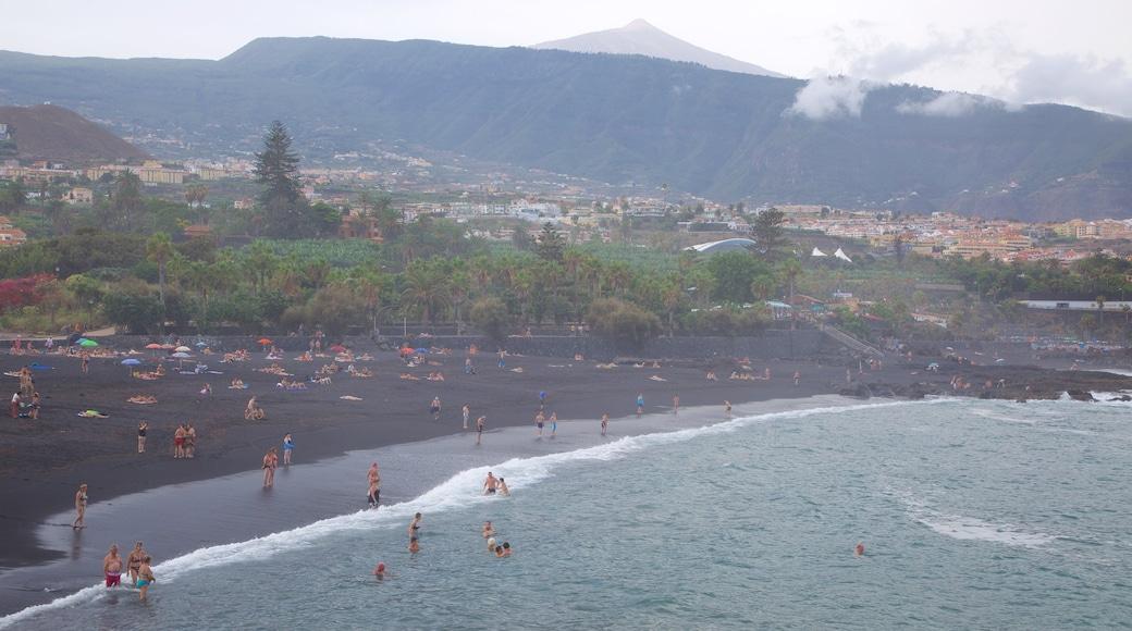 Garden Strand som viser udsigt over kystområde
