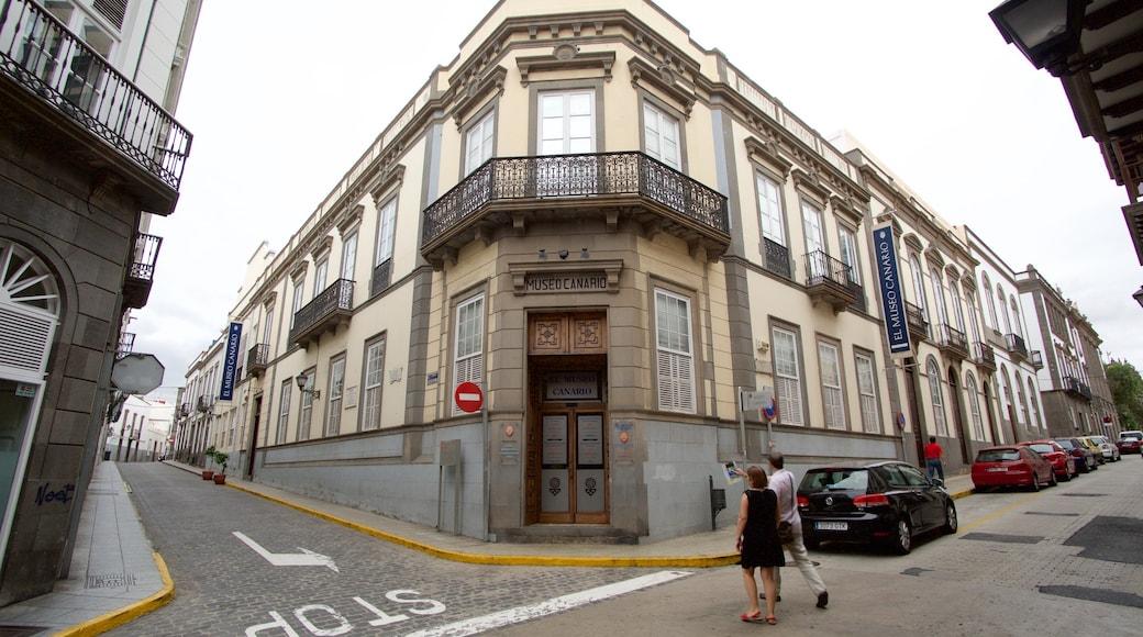 Kanarisches Museum mit einem historische Architektur