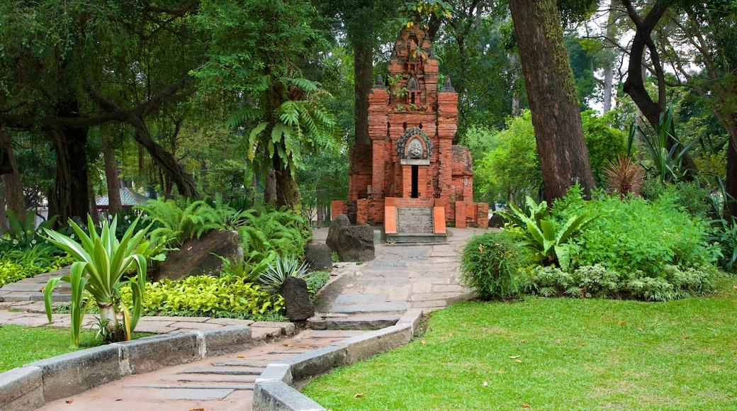 타오단 공원 을 보여주는 정원