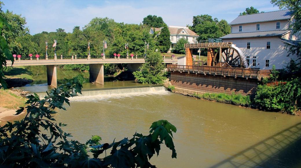 傑士伯 其中包括 河流或小溪, 小鎮或村莊 和 橋樑