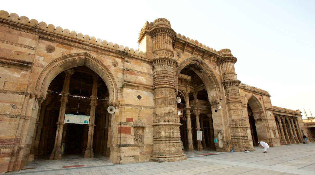 Jama Masjid Mosque which includes heritage architecture
