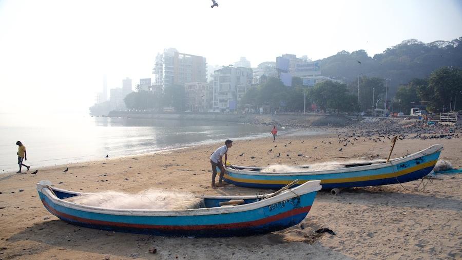 Thành phố Mumbai có tính năng chèo thuyền, bãi biển và cảnh bờ biển