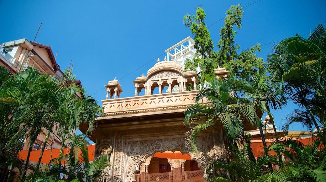 ISKCON Temple featuring heritage architecture