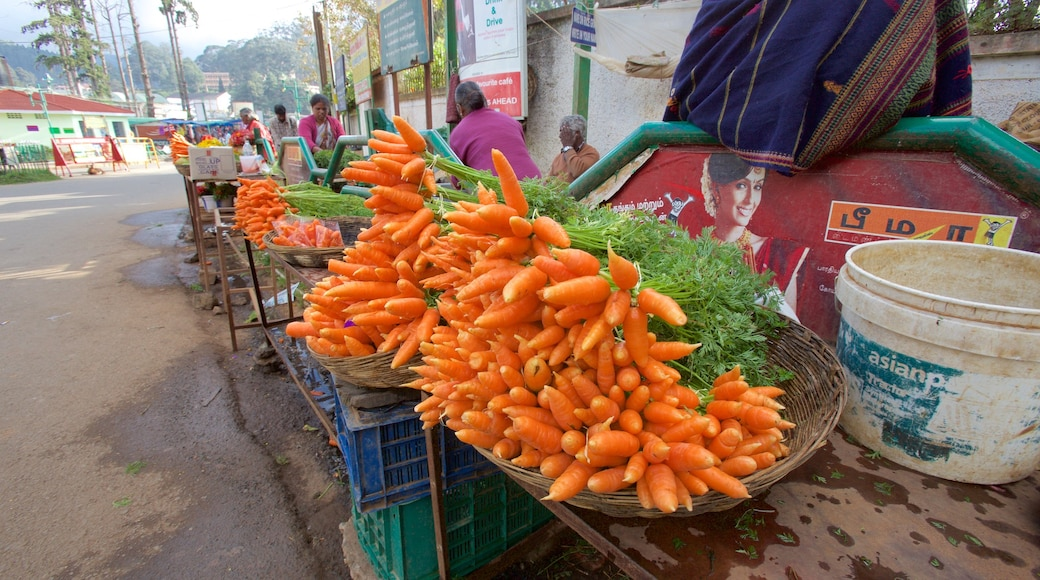 Ooty showing markets