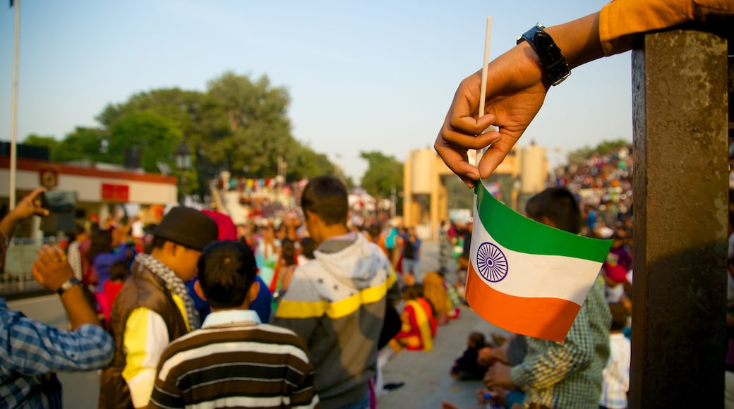 Amritsar as well as a large group of people