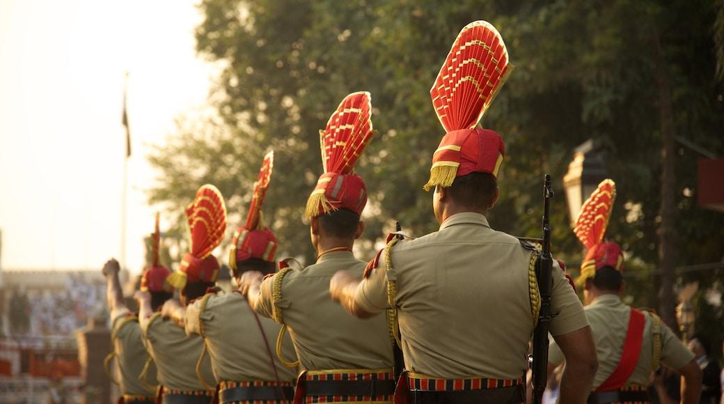 Amritsar showing military items