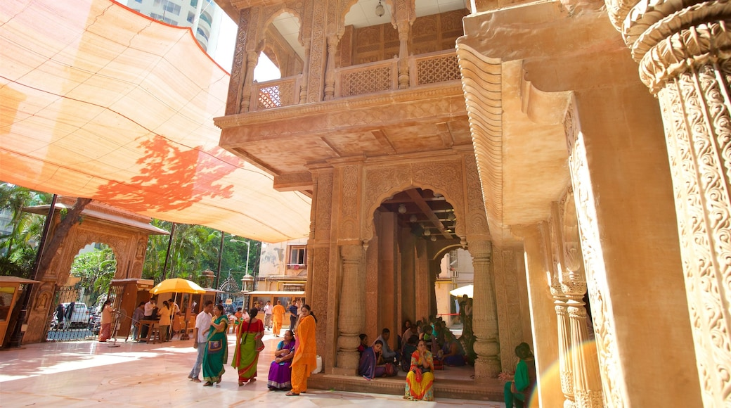 ISKCON Temple which includes heritage elements, a temple or place of worship and heritage architecture