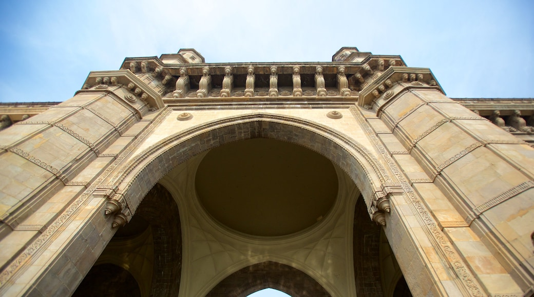Gateway of India which includes heritage architecture and heritage elements