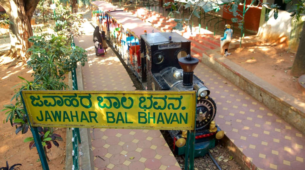 Cubbon Park which includes railway items