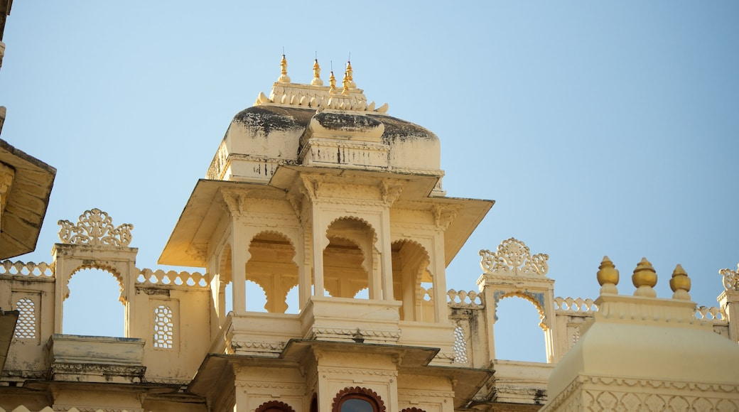 City Palace which includes a castle, heritage elements and heritage architecture