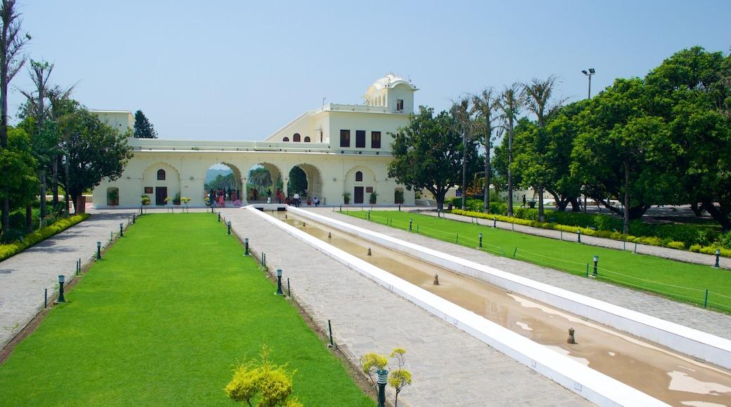 야다빈드라 정원 이 포함 문화유산 요소, 문화유산 건축 과 공원