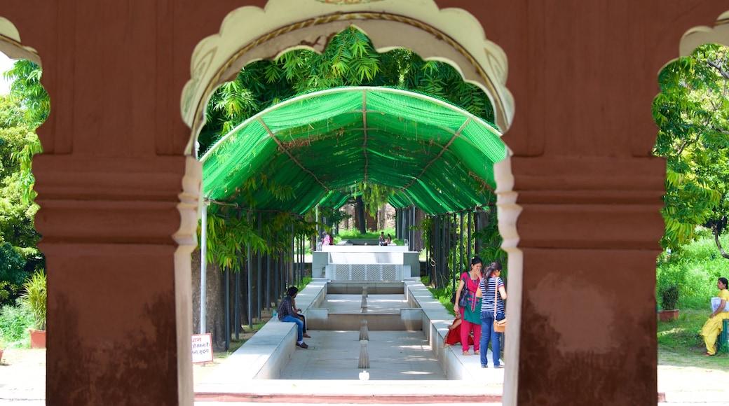 Yadavindra Gardens which includes a garden