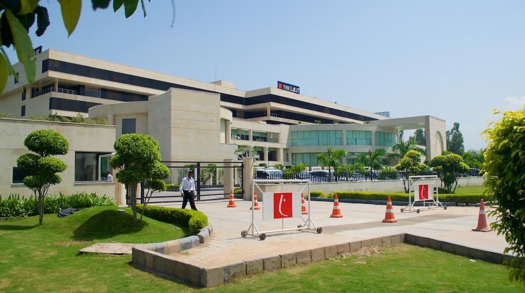 Rajiv Gandhi Chandigarh Technology Park featuring a garden