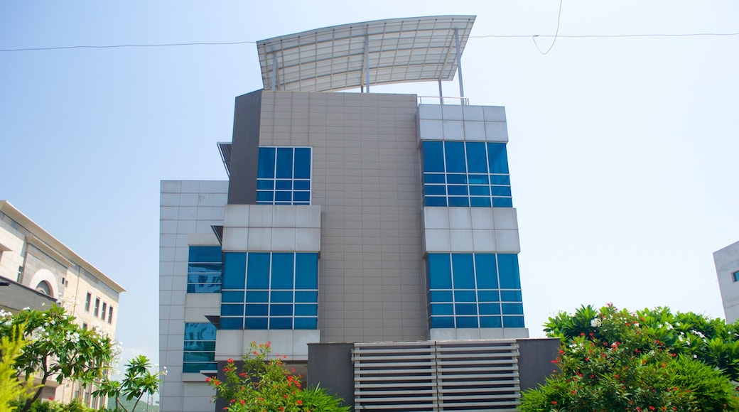 Rajiv Gandhi Chandigarh Technology Park showing a city