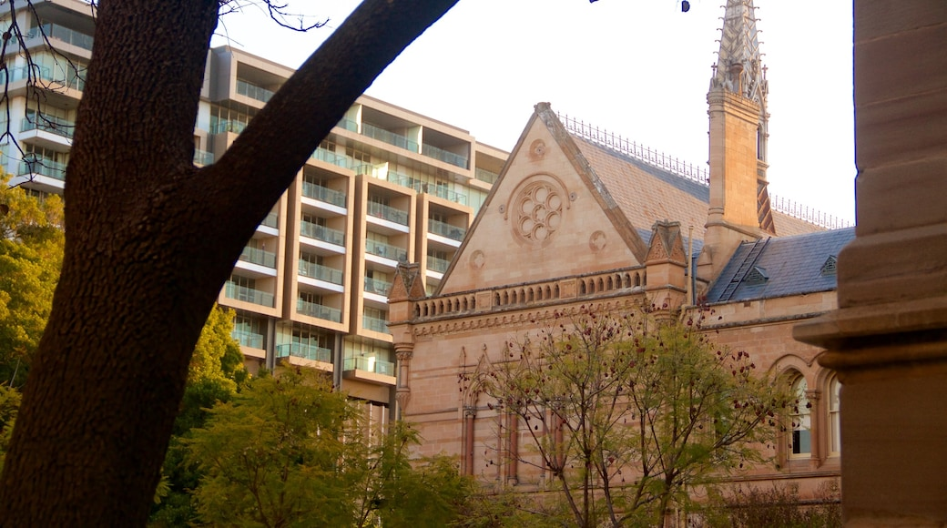 University of Adelaide which includes a city and heritage architecture