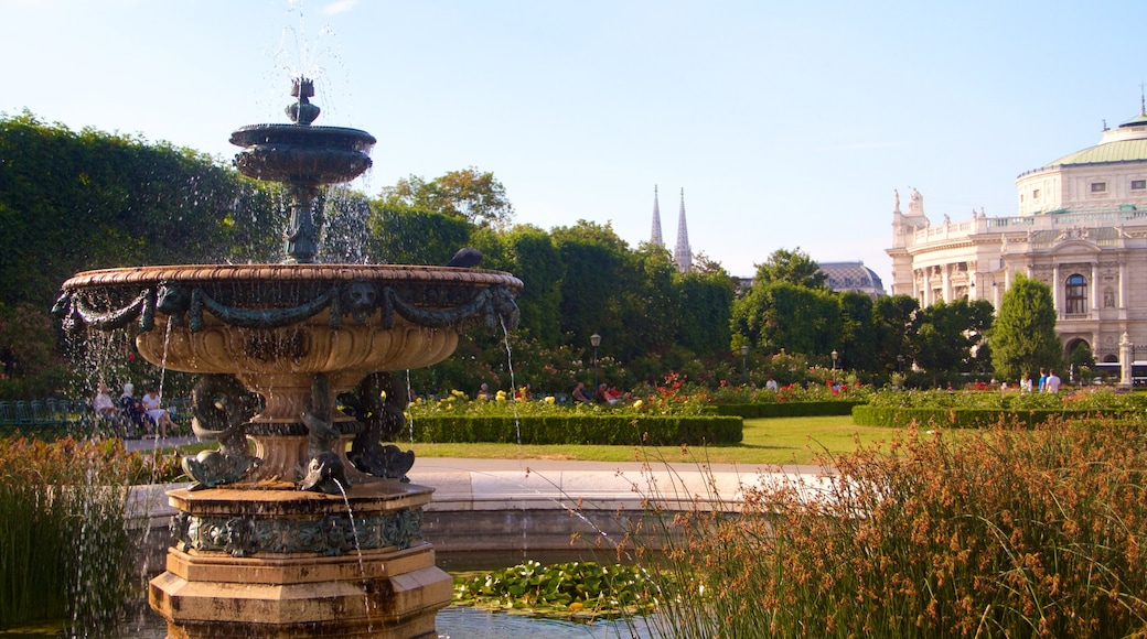 People\'s Garden featuring a fountain and a park