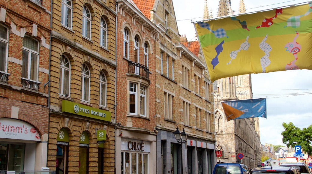 West Flanders which includes heritage architecture