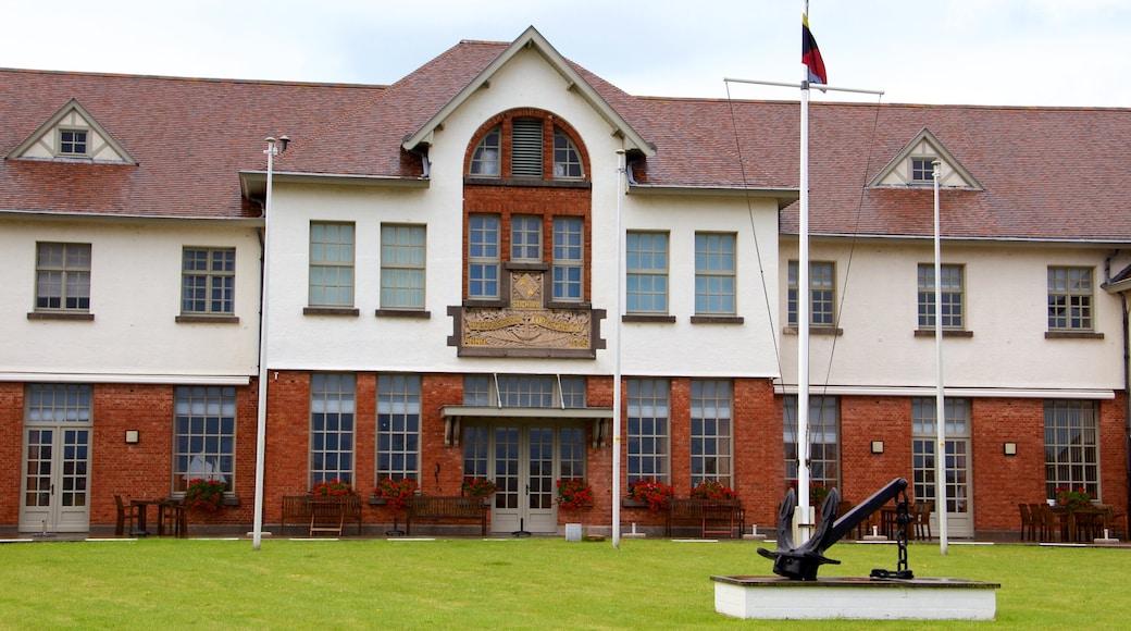 Ostende mit einem historische Architektur