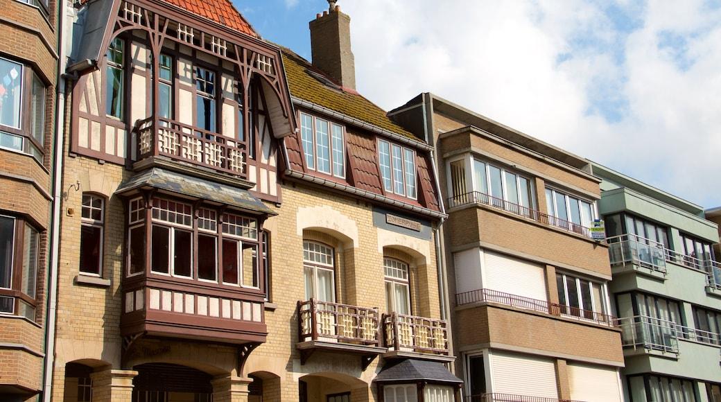 Westende montrant patrimoine architectural