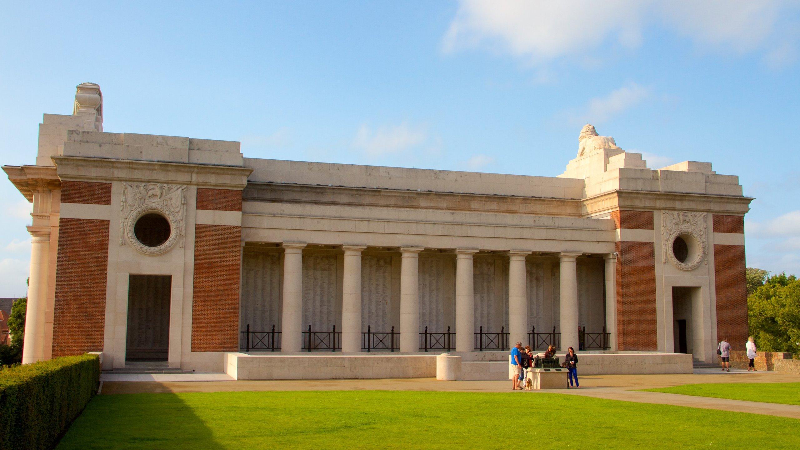 Menin Gate Memorial, Ypres, Flemish Region, Belgium