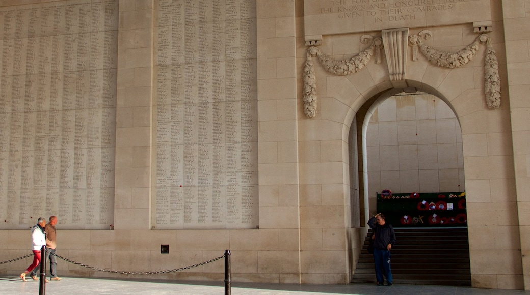 Menin Gate Memorial featuring heritage elements